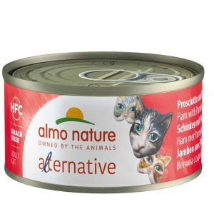 Almo Nature Hfc Alternative Blik 70 g - Kattenvoer - Ham&Parmezaan - Kattenvoer