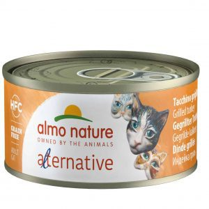 Almo Nature Hfc Alternative Blik 70 g - Kattenvoer - Kalkoen - Kattenvoer