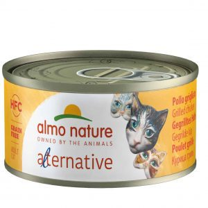 Almo Nature Hfc Alternative Blik 70 g - Kattenvoer - Kip - Kattenvoer
