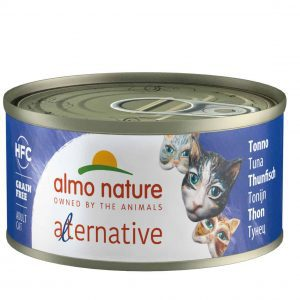 Almo Nature Hfc Alternative Blik 70 g - Kattenvoer - Tonijn - Kattenvoer