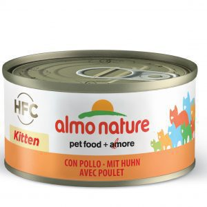 Almo Nature Hfc Cat Natural Blik Kitten Kip 70 g Hfc - Kattenvoer
