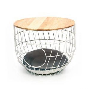 Kattenmand Wire Cat Table Wit