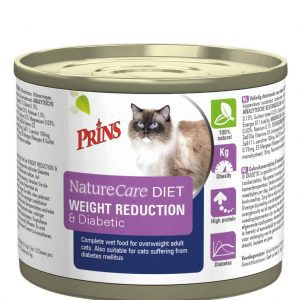 Prins Naturecare Diet Cat Weight - Kattenvoer - 200 g - Kattenvoer