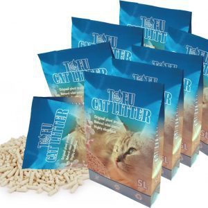 Tofu Cat Litter 8 x 5L