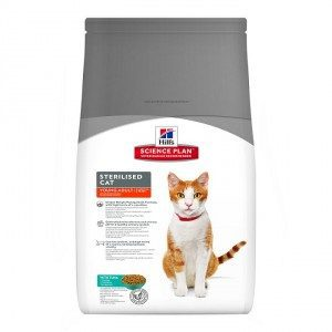 Hill's Sterilised Young Adult Tonijn kattenvoer 1.5 kg