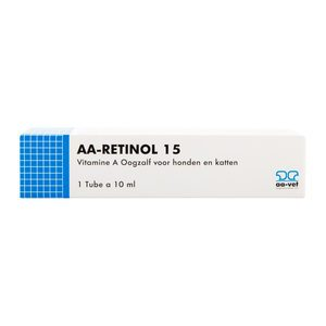 AA-Retinol 15 Oogzalf - 10 ml