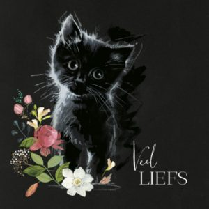 UK Greetings | Zwarte kat Veel liefs
