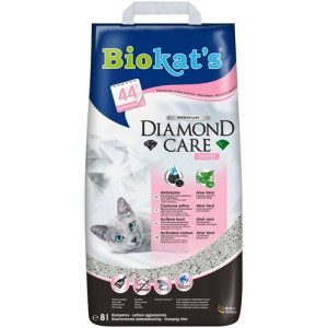 Biokat's Diamond Care Fresh kattengrit 3 x 8 liter