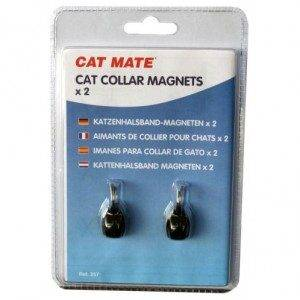 Cat Mate Collar Magnets (2x) voor de kat Per verpakking