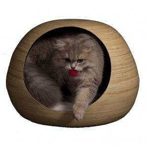 Dandy Cat Dandy-Cat Ball Kattenhuis zwart