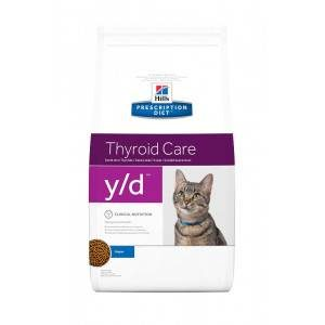 Hill's Prescription Diet Y/D kattenvoer 5 kg
