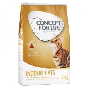 Concept for Life Indoor Cats Kattenvoer - 10 kg