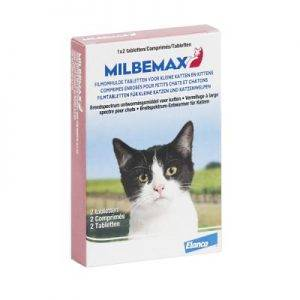 Milbemax Kitten / Small Cat (NL) - 2 x 2 Tabletten APO