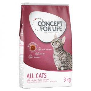 3 kg Concept for Life All Cats kattenvoer