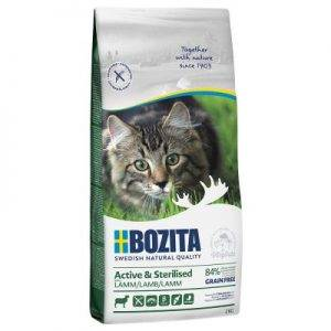 Bozita Grainfree Active & Sterilised Lam - 2 kg