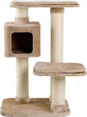 Flamingo Krabpaal Big cat - Beige - 97 x 76 x 12