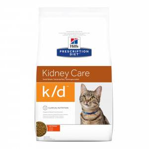 Hill's Prescription K/D Kidney Care kattenvoer kip 5 kg