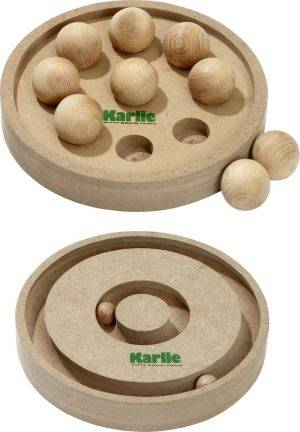 Karlie Kitty Brain Train - kattenpuzzel - 25 cm