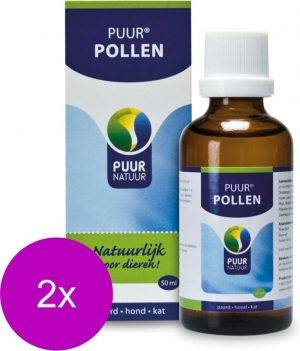 Puur Natuur Pollen - Supplement - Luchtwegen - 2 x 50 ml