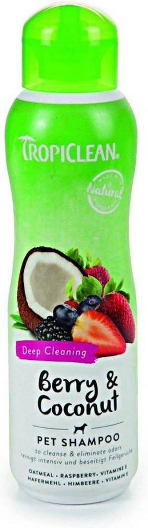 Tropiclean Berry And Coconut Shampoo 355ml