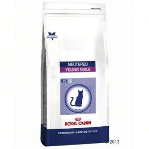3,5kg Vet Care Nutrition Kat - Neutered Young Male Royal Canin