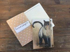 Alex Clark Large Chunky Notebook ~ A5 Softcover Notitieboek Kat Coco