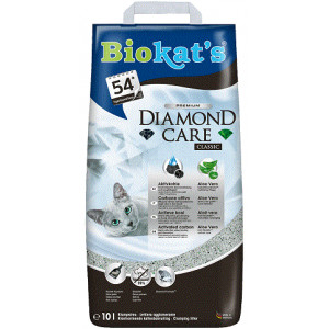 Biokat's Diamond Care Classic kattengrit 3 x 10 liter