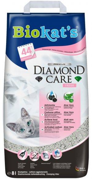 Biokat's Diamond Care Fresh - Kattenbakvulling - 8 l