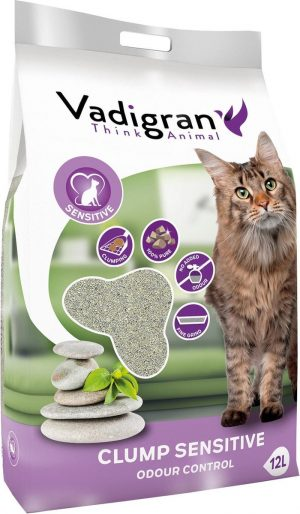 Cat litter bentonite sensitive 12kg (12L)