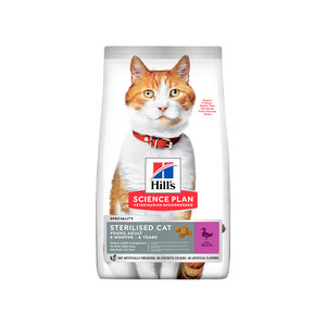 Hill's Science Plan - Feline Young Adult - Sterilised - Duck - 10 kg