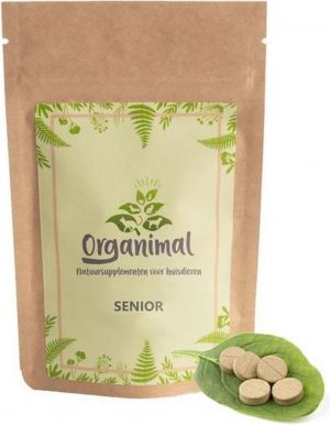 Organimal - Senior - Katten - 45 tabletten a 700mg