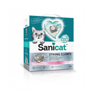 Sanicat Strong Clumps kattengrit 2 x 10 liter