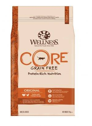 Wellness Core Grain Free Cat Original Kalkoen&Kip - Kattenvoer - 10 kg
