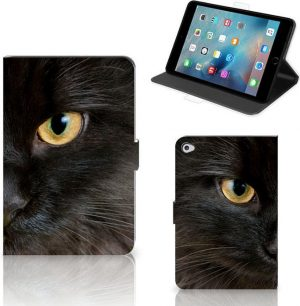 Apple iPad Mini 5 Flip Case Zwarte Kat