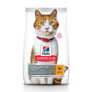 Hill's Science Plan - Feline Young Adult - Sterilised - Chicken - 10 kg