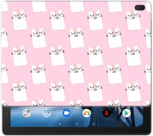 Lenovo Tab E10 Back Case Sleeping Cats