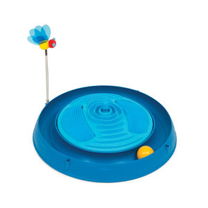 Catit Play Circuit Ball Toy with Catnip Massager