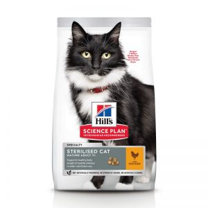 Hill's Mature Adult 7+ Sterilised - Kattenvoer - Kip - 10 kg