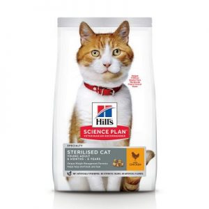 Hill's Science Plan Young Adult Sterilised Cat - Kip - 3 kg