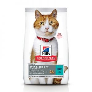 Hill's Science Plan Young Adult Sterilised Cat - met Tonijn - 3 kg