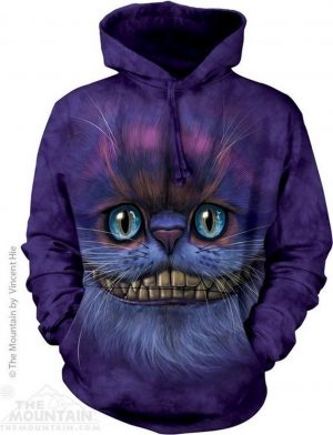 Hoodie Big Face Cheshire Cat