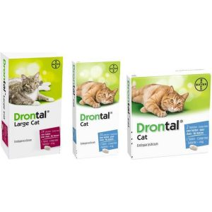 Drontal Large Cat Ontworming - Grote Kat - 24 tabletten