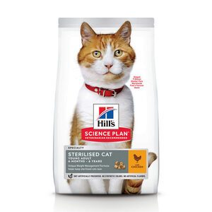 Hill's Science Plan - Feline Young Adult - Sterilised - Chicken - 7 kg