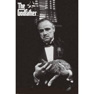 Pyramid The Godfather Black And White Cat Poster 61x91,5cm