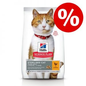 15% korting! 7/10 kg Hill's Science Plan - Senior Vitality with Chicken - 7 kg