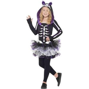 Dressing Up & Costumes | Costumes - Halloween - Skelly Cat Costume